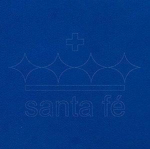 Feltro Liso 1 X 1,4 mt - Azul Anil 042 - Santa Fé - Rizzo Embalagens