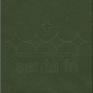 Feltro Liso 1 X 1,4 mt - Verde Oliva 052 - Santa Fé - Rizzo Embalagens