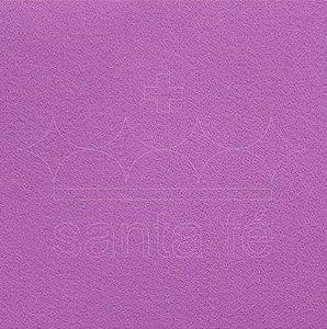 Feltro Liso 30 X 70 cm - Violeta Candy Color 008 - Santa Fé - Rizzo Embalagens