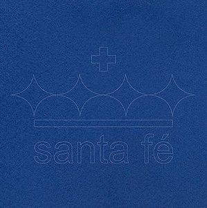 Feltro Liso 30 X 70 cm - Azul Noite 063 - Santa Fé - Rizzo Embalagens