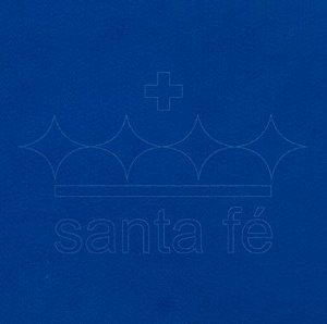 Feltro Liso 30 X 70 cm - Azul Anil 042 - Santa Fé - Rizzo Embalagens