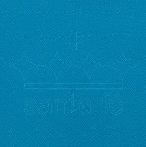 Feltro Liso 30 X 70 cm - Azul Turqueza 028 - Santa Fé - Rizzo Embalagens