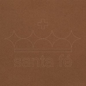 Feltro Liso 30 X 70 cm - Marrom 025 - Santa Fé - Rizzo Embalagens