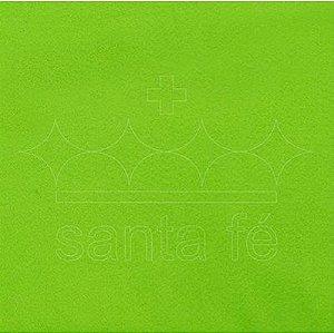 Feltro Liso 30 X 70 cm - Verde Citrico 002 - Santa Fé - Rizzo Embalagens