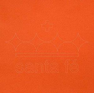 Feltro Liso 30 X 70 cm - Laranja 013 - Santa Fé - Rizzo Embalagens