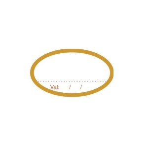 Etiqueta Adesiva Validade - 100 unidades - Rizzo Embalagens
