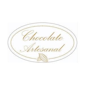 Etiqueta Adesiva Chocolate Artesanal - 100 unidades - Rizzo Embalagens
