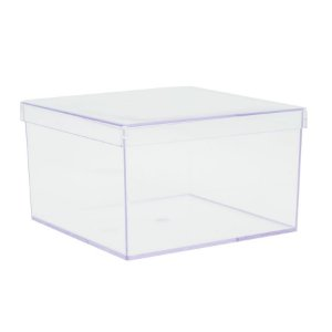 Caixa de Acrílico 14x14x9cm - 01 unidade - Rizzo Embalagens