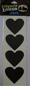 Etiqueta Adesiva Lousa Preta - 08 unidades - Rizzo Embalagens