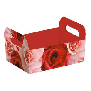 Caixote de Papel Cartão Belle - 1 unidade - Cromus - Rizzo Embalagens
