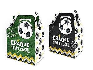 Caixa Surpresa Maleta Festa Futebol 08 Unidades - Regina - Rizzo Festas