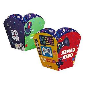 Cachepot Papel Festa Games 04 Unidades - Regina - Rizzo Festas