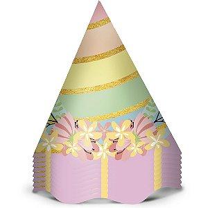 Chapeu Aniversario Festa Unicornio 2 12 Unidades - Regina - Rizzo Festas