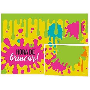 Painel Decorativo 126X88 Cm Festa Hora De Brincar 01 Unidade - Regina - Rizzo Festas