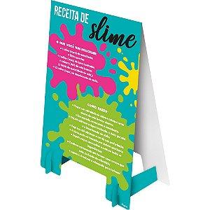 Plaquinha De Mesa Cavalete Festa Hora De Brincar 08 Unidades - Regina - Rizzo Festas