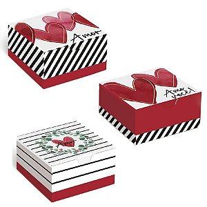 Caixa Divertida Lover Sortido - 10 unidades - Cromus - Rizzo Embalagens