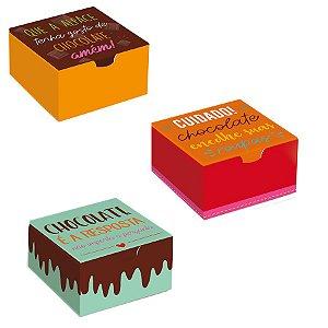 Caixa Divertida Chocodelícia Sortido - 10 unidades - Cromus - Rizzo Embalagens
