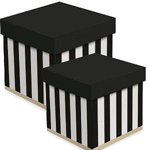 Caixa Cubo com Jimmy - 01 unidade - Cromus - Rizzo Embalagens