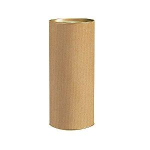 Lata para Presente M 24x10cm Liso Kraft - 01 unidade - Rizzo Embalagens