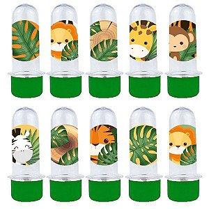 Mini Tubete Lembrancinha Festa Safari 2 - 8cm - 20 unidades - Verde -  Rizzo Embalagens e Festas