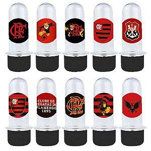 Mini Tubete Lembrancinha Festa Flamengo - 8cm - 20 unidades - Preto -  Rizzo Embalagens e Festas