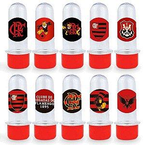 Mini Tubete Lembrancinha Festa Flamengo - 8cm - 20 unidades - Vermelho -  Rizzo Embalagens e Festas