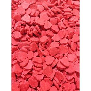 Mini Corações Vermelhos de Açúcar - Abelha Confeiteira - Rizzo Embalagens