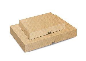 Caixa Degustação Kraft para 24 e 48 Doces - 10 unidades - Cromus Profissional - Rizzo Embalagens