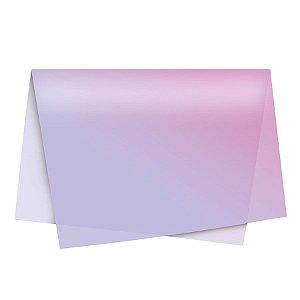 Papel de Seda - 49x69cm - Degradê Lilás - 10 folhas - Rizzo Embalagens