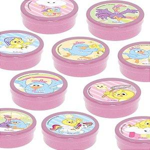 Latinha Lembrancinha Festa Galinha Pintadinha Candy - 8cm - 20 unidades - Rosa -  Rizzo Embalagens e Festas