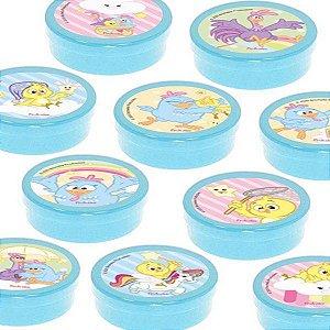 Latinha Lembrancinha Festa Galinha Pintadinha Candy - 8cm - 20 unidades - Azul -  Rizzo Embalagens e Festas