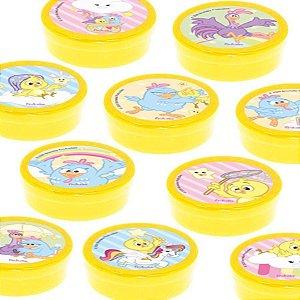 Latinha Lembrancinha Festa Galinha Pintadinha Candy - 8cm - 20 unidades - Amarelo -  Rizzo Embalagens e Festas
