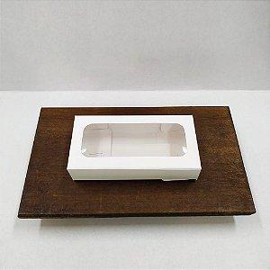 Caixa Envelope Tablete - Branco - 8 Gomos -10 unidades - Crystal - Rizzo Embalagens