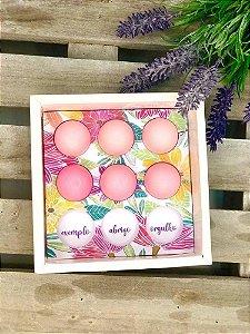 Berço para Trufas Dia das Mães Floral - 01 unidades - Rizzo Embalagens