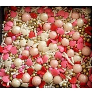 Sprinkles Love (Amor) 60g - Morello - Rizzo Embalagens