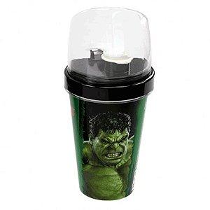 Mini Shakeira com Tampa Hulk 320ml - Plasútil - Rizzo