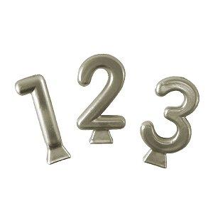 Vela Metallic Ouro - 01 Unidade - Festcolor - Rizzo Embalagens