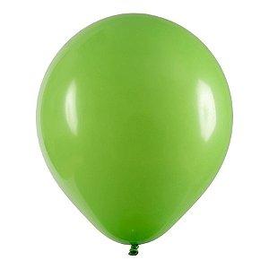 Balão de Festa Redondo Profissional Látex Liso - Verde Lima - Art-Latex - Rizzo Balões
