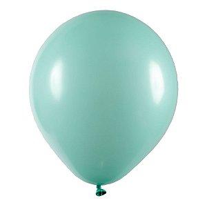 Balão de Festa Redondo Profissional Látex Liso - Verde Claro - Art-Latex - Rizzo Balões