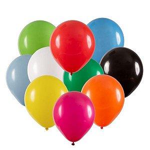 Balão de Festa Redondo Profissional Látex Liso - Sortido - Art-Latex - Rizzo Embalagens