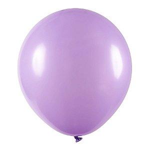 Balão de Festa Redondo Profissional Látex Liso - Lilas - Art-Latex - Rizzo Balões