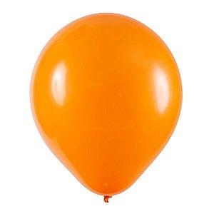Balão de Festa Redondo Profissional Látex Liso - Laranja - Art-Latex - Rizzo Balões