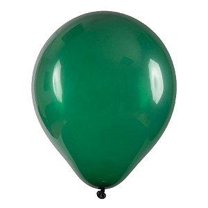 Balão de Festa Redondo Profissional Látex Liso - Verde Musgo - Art-Latex - Rizzo Balões
