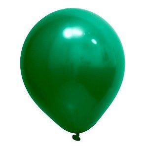 Balão de Festa Redondo Profissional Látex Cromado - Verde - Art-Latex - Rizzo Balões