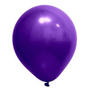 Balão de Festa Redondo Profissional Látex Cromado - Roxo - Art-Latex - Rizzo Balões