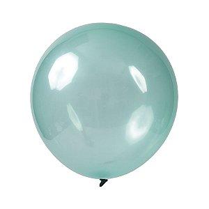Balão de Festa Redondo Profissional Látex Cristal Candy - Verde - Art-Latex - Rizzo Balões