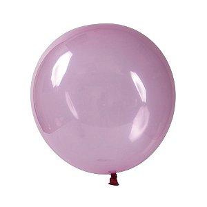 Balão de Festa Redondo Profissional Látex Cristal Candy - Rosa - Art-Latex - Rizzo Balões