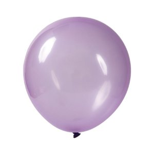 Balão de Festa Redondo Profissional Látex Cristal Candy - Lilas - Art-Latex - Rizzo Balões