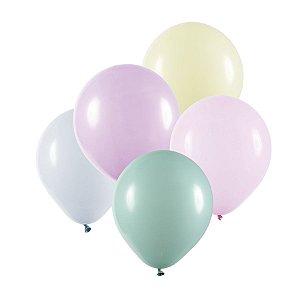 Balão de Festa Redondo Profissional Látex Candy - Sortido - Art-Latex - Rizzo Balões