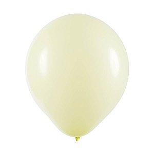Balão de Festa Redondo Profissional Látex Candy - Amarelo - Art-Latex - Rizzo Balões